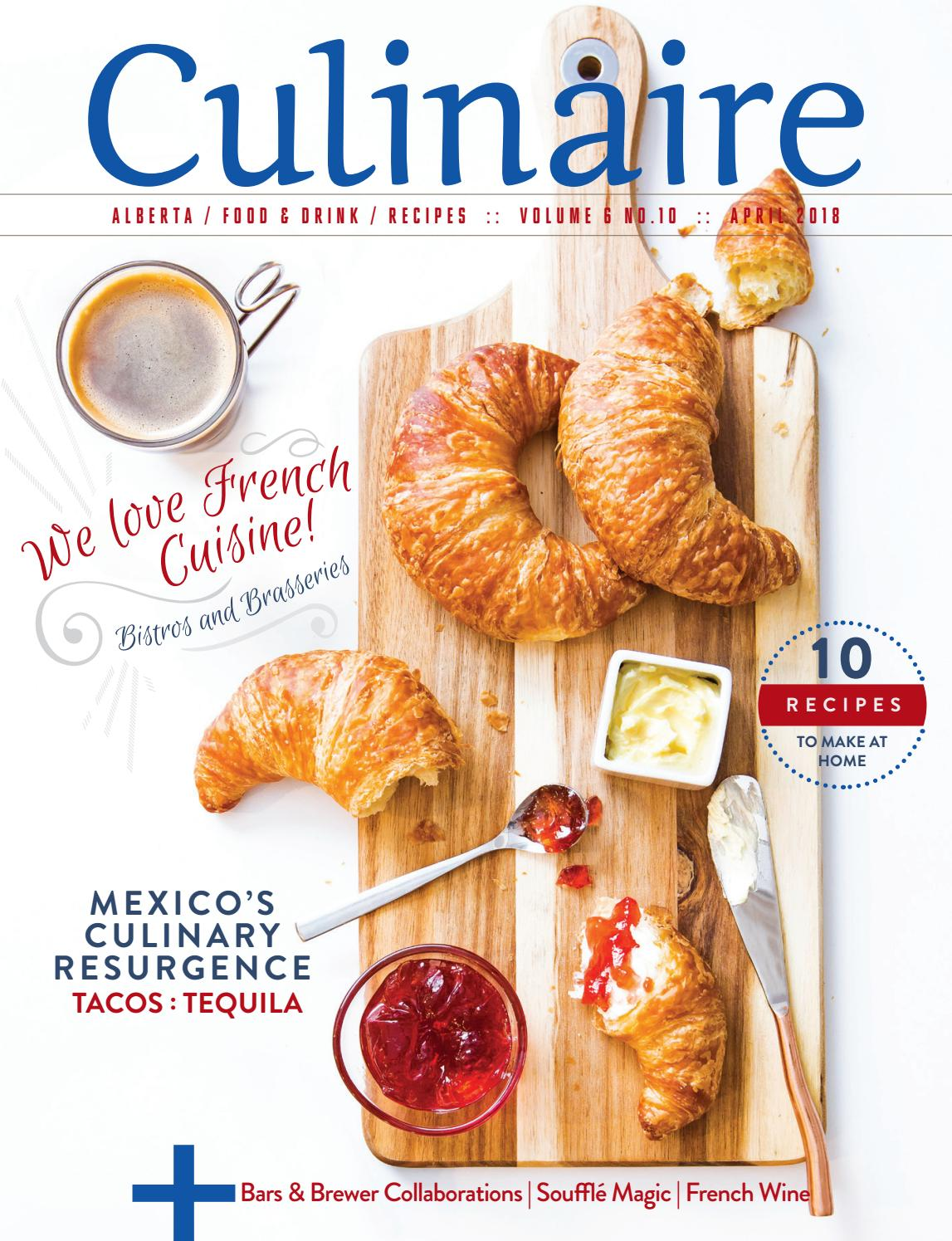 728eeab3fa05 Culinaire  6 10 (April 2018) by Culinaire Magazine - issuu
