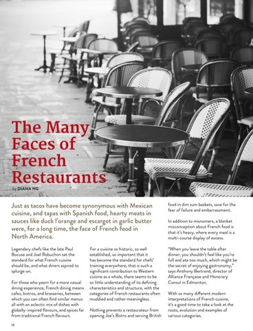 Page 18 of The Many Faces of French Restaurants