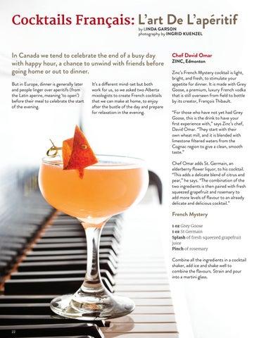 Page 22 of Cocktails Français