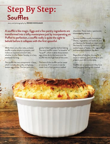 Page 26 of Step by Step: Souffles