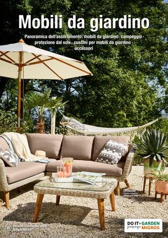 D gam it panoramica dell 39 assortimento mobili da giardino for Mobili per giardino