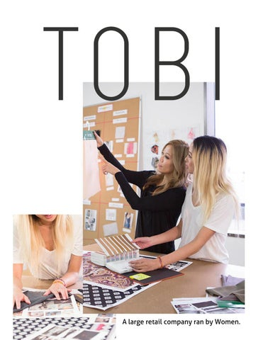 Page 14 of Interview With Women Owned Retail Company Tobi