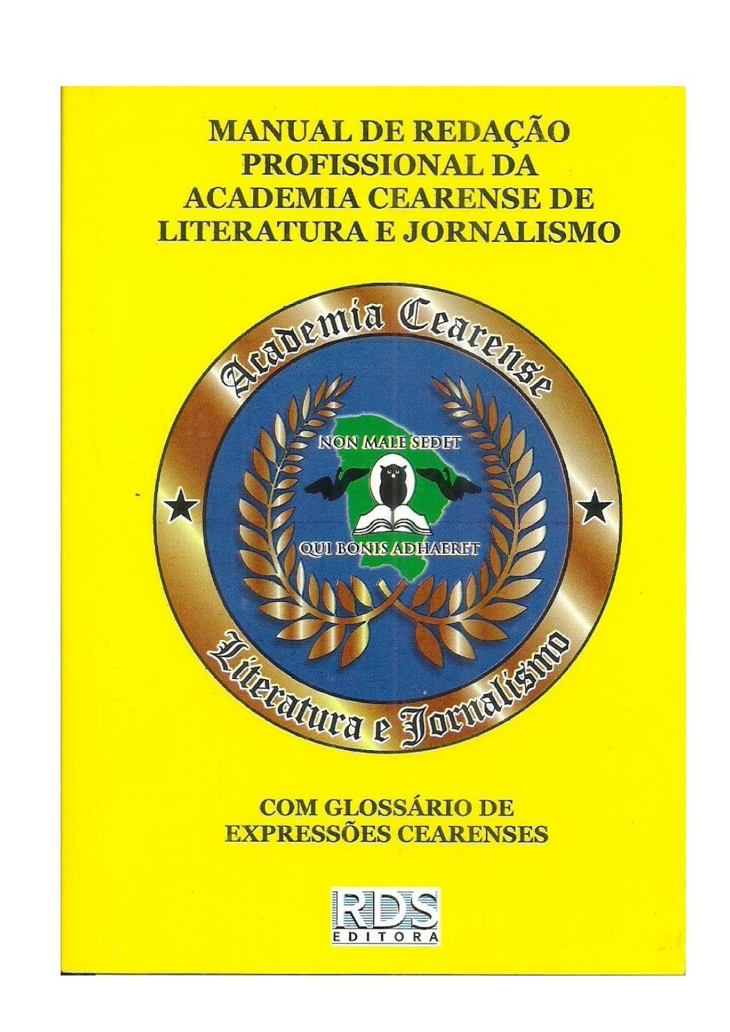 Manual de redação by Reginaldo Vasconcelos - issuu ae52f13034724