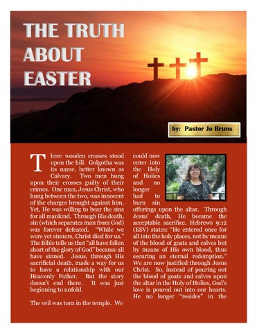 Page 40 of The Truth About Easter - Pastor Jo Bruns
