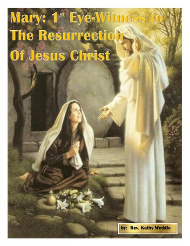 Page 44 of Mary:  1st Eye-Witness to The Resurrection of Jesus Christ - Rev. Kathy Weddle