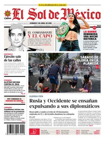 ef5d859b4c El Sol de México 01 de abril 2018 by El Sol de México - issuu
