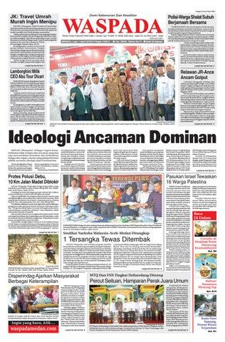 Waspada,minggu 1 april 2018 by Harian Waspada - issuu
