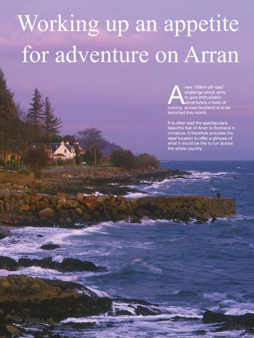 Page 45 of Working up an appetite for adventure on Arran