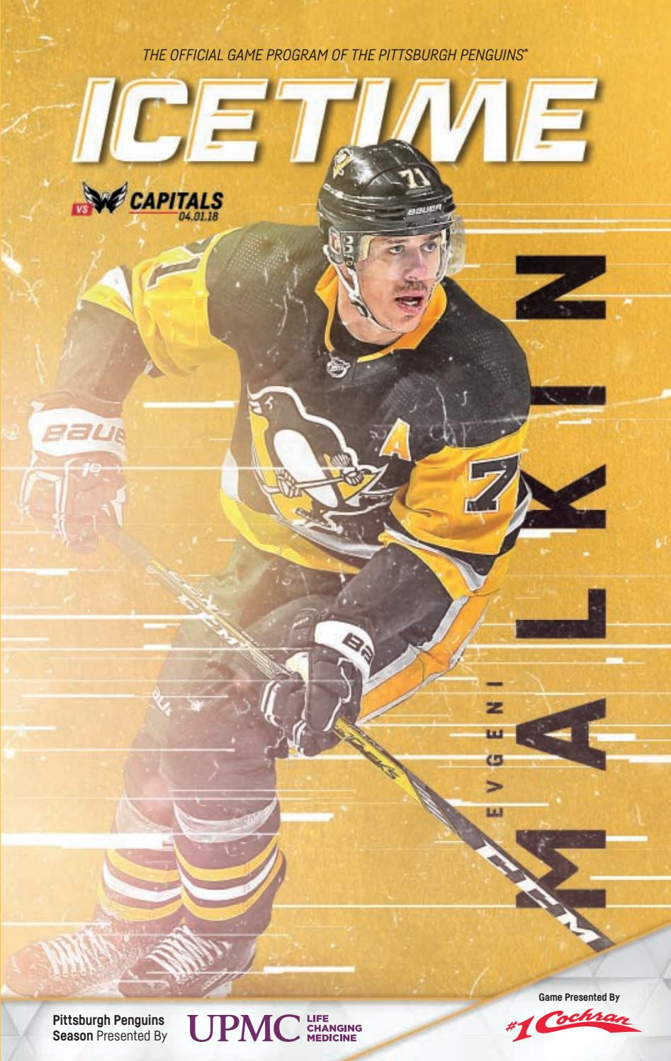c8ac02d1031 IceTime - Game 40 vs. Washington Capitals 04.01.18 by Pittsburgh ...