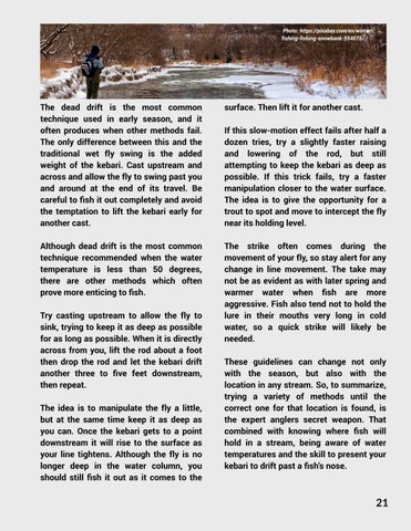 Page 23 of Early Spring Stream Angling - Jim Wright