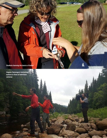 Page 65 of Tenkara in Canada's Beautiful Foret Montmorency - Daniele Beaulieu