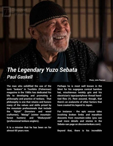 Page 6 of The Legendary Yuzo Sebata - Paul Gaskell