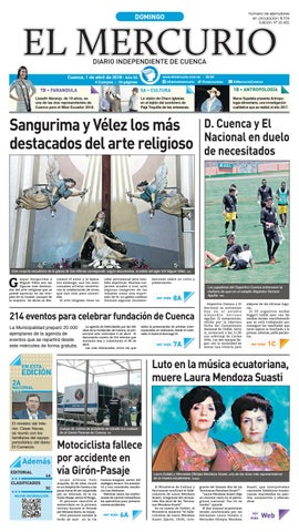 hemeroteca 01-04-2018 by Diario El Mercurio Cuenca - issuu 58957a478cd