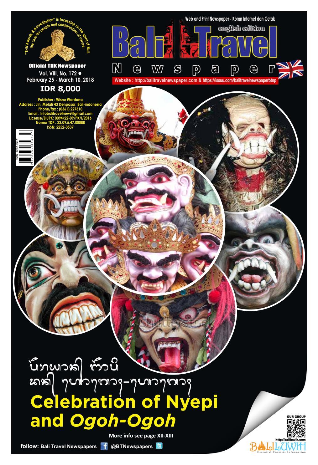 Bali Travel Newspaper Edisi 172 By Balitravelnewspaper Btnp Issuu Produk Ukm Bumn Bag Small Size