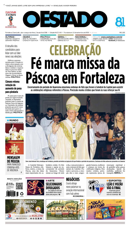 df0faca8f 02/04/2018 -Edição 23245 by Jornal O Estado (Ceará) - issuu