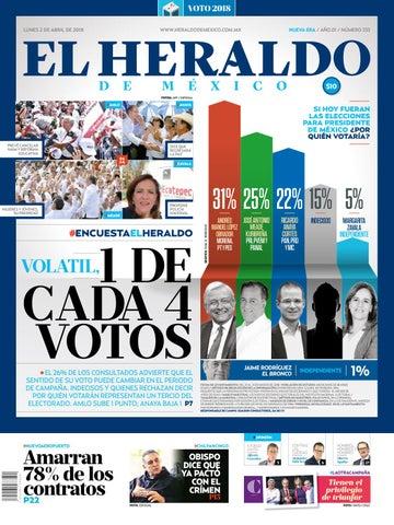 509b9fcb34 2 de abril de 2018 by El Heraldo de México - issuu