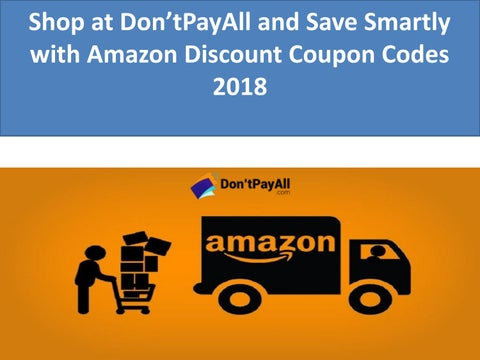 Shop at don'tpayall and save smartly with amazon discount