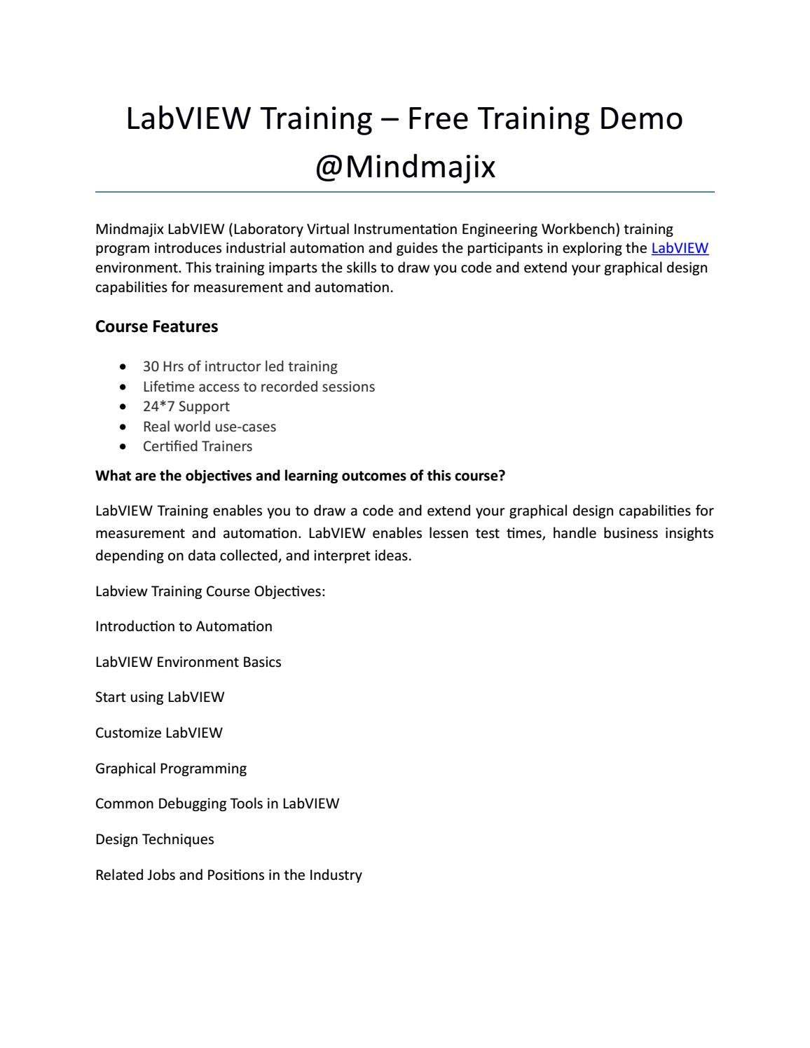 Labview training doc by liana melissa12 - issuu