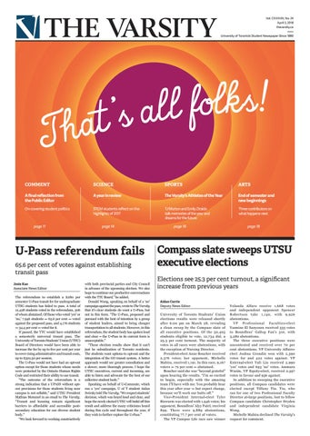 April 3 2018 By The Varsity Issuu