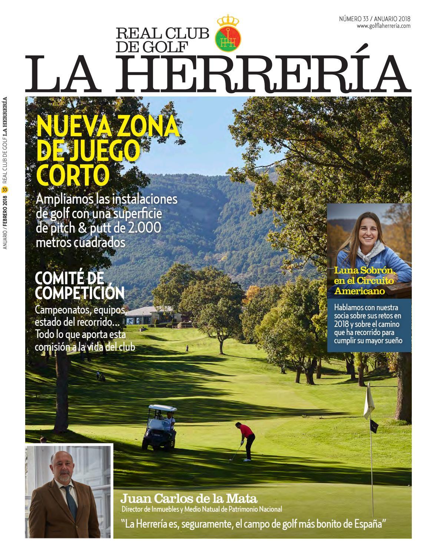 quality design 10fbb 4aa13 Revista oficial RCG La Herrería, nº 33 (2018) by Real Club de Golf La  Herrería - issuu