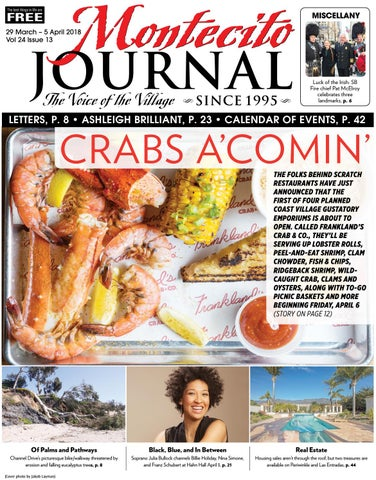 84a2370e831 Crabs A Coming  by Montecito Journal - issuu