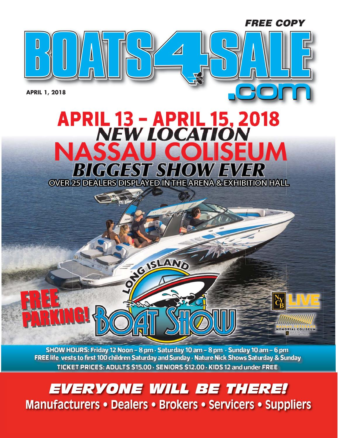 April 1, 2018 boats 4 sale magazine by Boats4Sale com Media