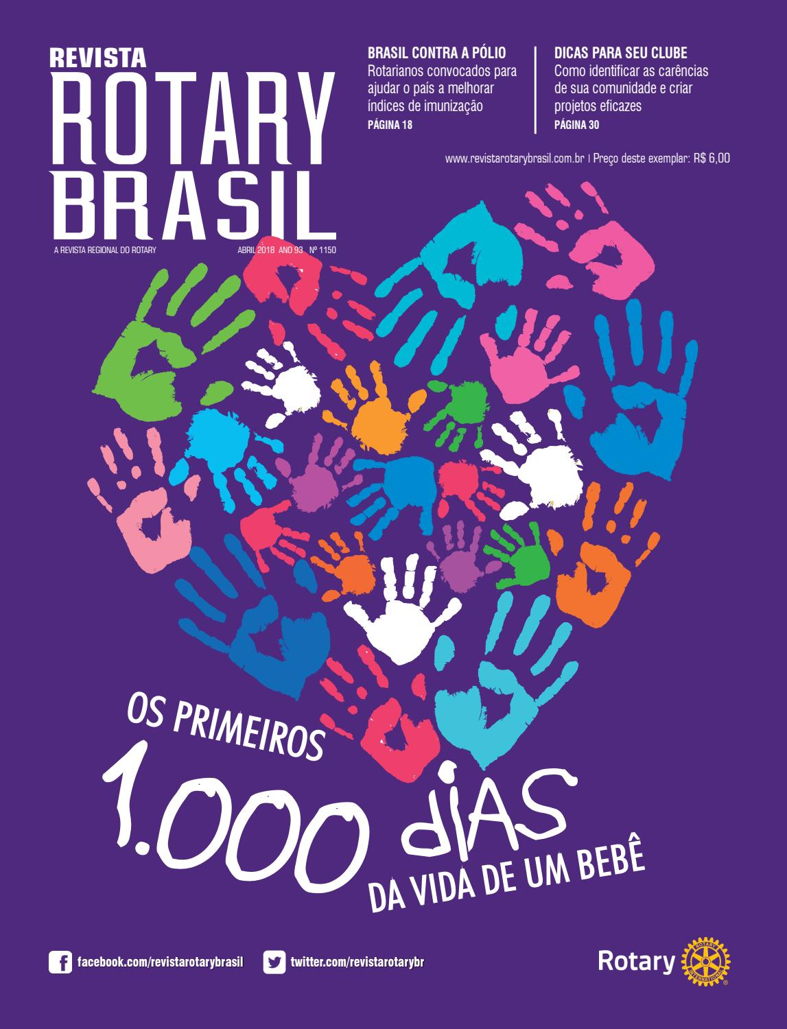 f9a0f31d3bb Revista Rotary Brasil - Abril de 2018 by Revista Rotary Brasil - issuu