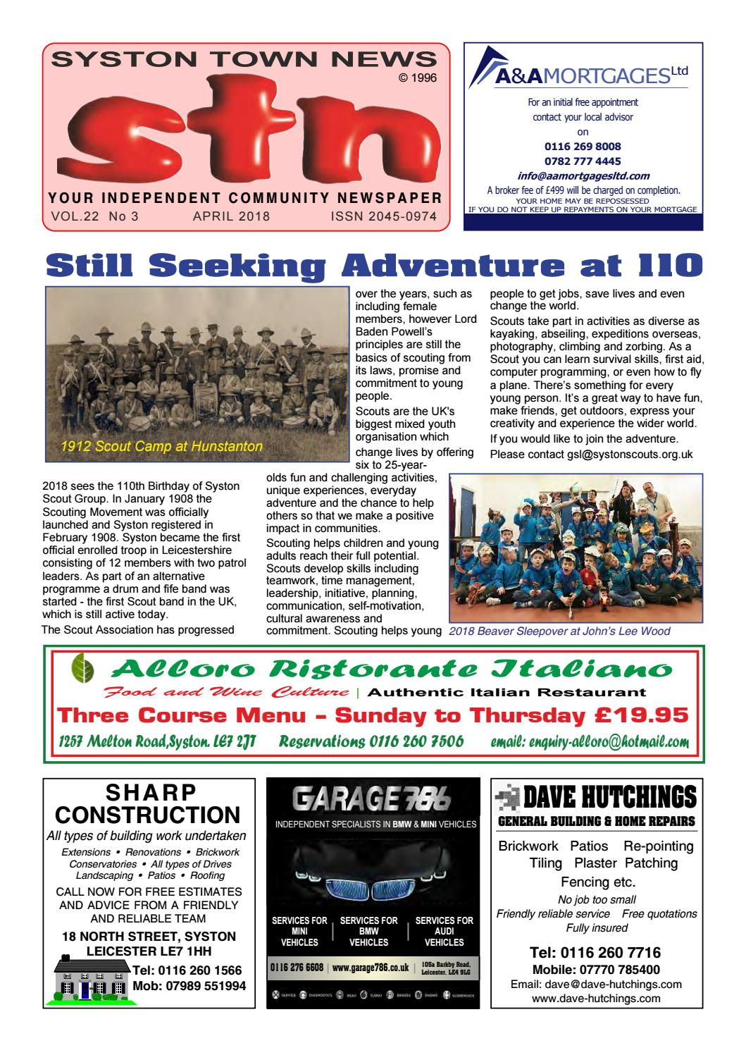 Lilley Tile And Stone Llp syston town news your independent community newspaper april