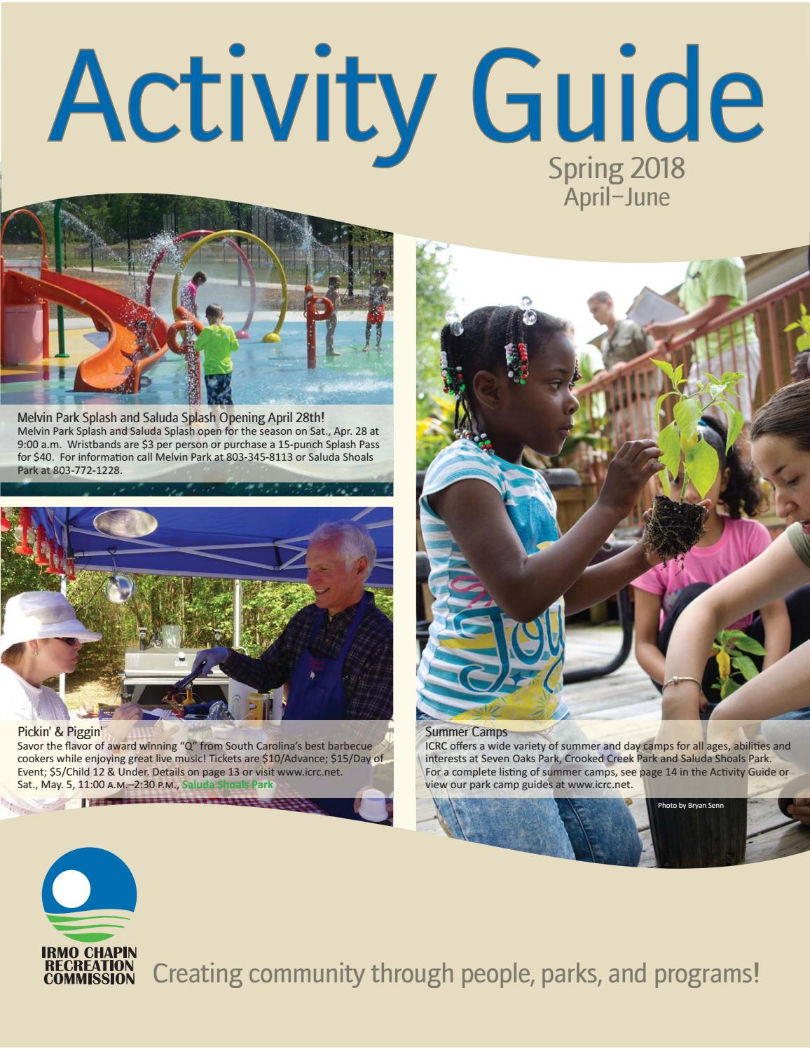 5b9747f664 ICRC Spring 18 Activity Guide by Irmo Chapin Rec. Comm - issuu