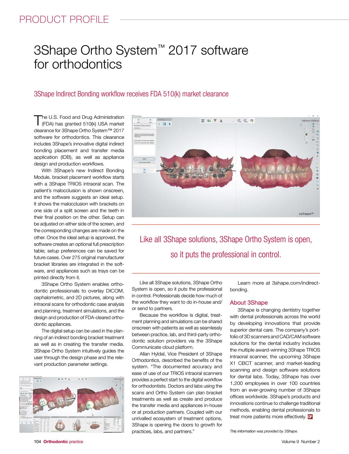 Orthodontic Practice US March/April 2018 Vol 9 No 2 by