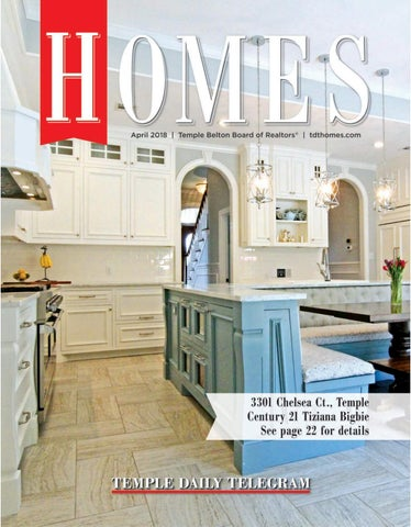 April 2018 TDT Homes by Temple Daily Telegram - issuu on temple tx newspaper, temple dog shelter, temple animal shelter, temple lake park address, temple wildcats football,