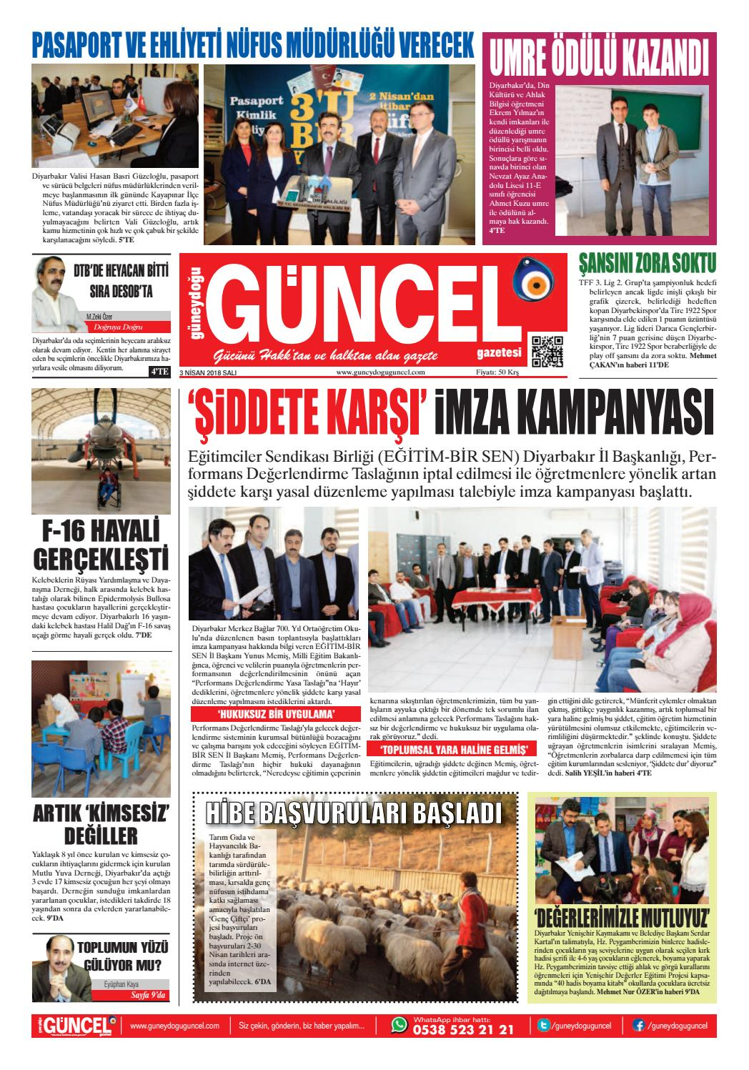 03 04 18 0 By Guneydoguguncel Issuu