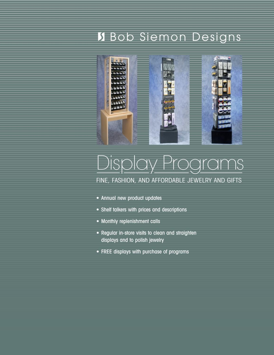 3 Display Programs By Bob Siemon Designs Issuu