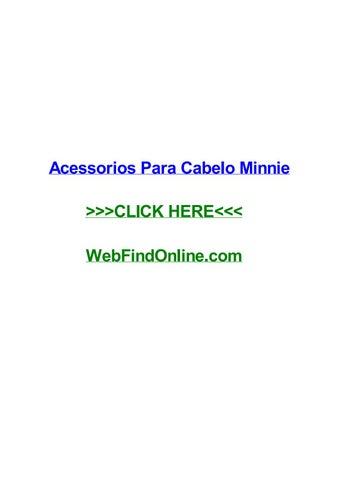 Acessorios Para Cabelo Minnie By Shondagcvuv Issuu