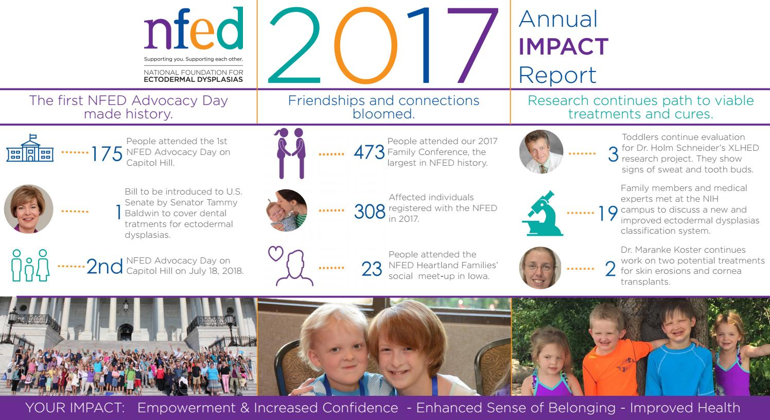 2017 NFED Annual IMPACT Report by National Foundation for