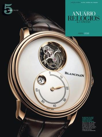 ea648860415 Anuário Relógios   Canetas - Abril 2018 by Anuário Relógios ...