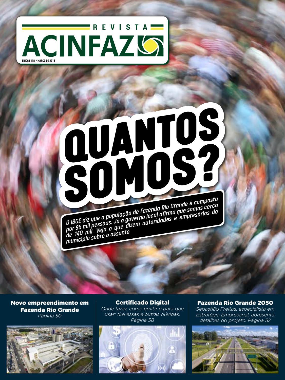 d39472223a05 Revista ACINFAZ - Edição 118 (março/2018) by Associação Comercial e  Industrial de Fazenda Rio Grande (ACINFAZ) - issuu
