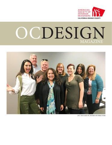 Asid orange county march 2018 oc design magazine by - Interior design institute orange county ...