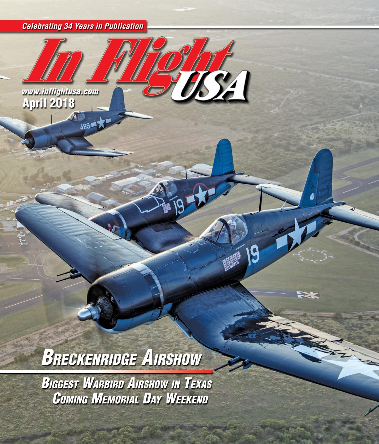 In Flight April 2018 by Anne Dobbins - issuu