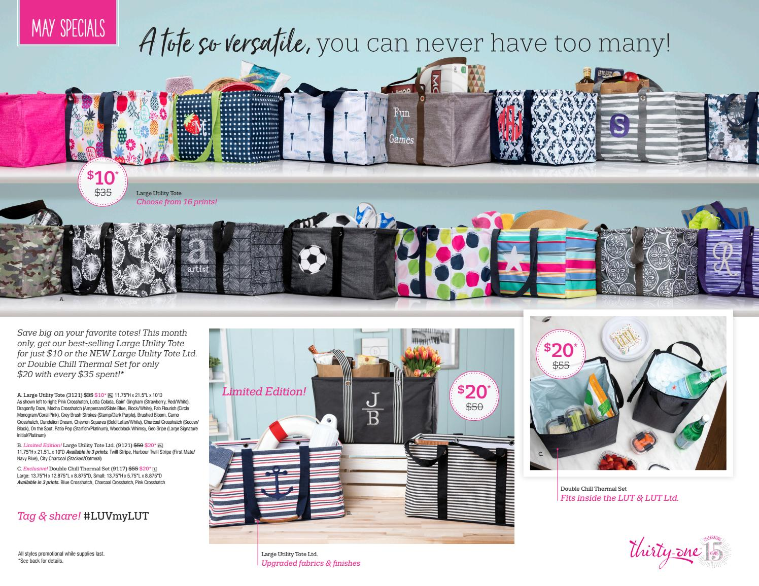 ce24d2168090 Thirty-One Gifts May Customer specials by kristinmoses - issuu