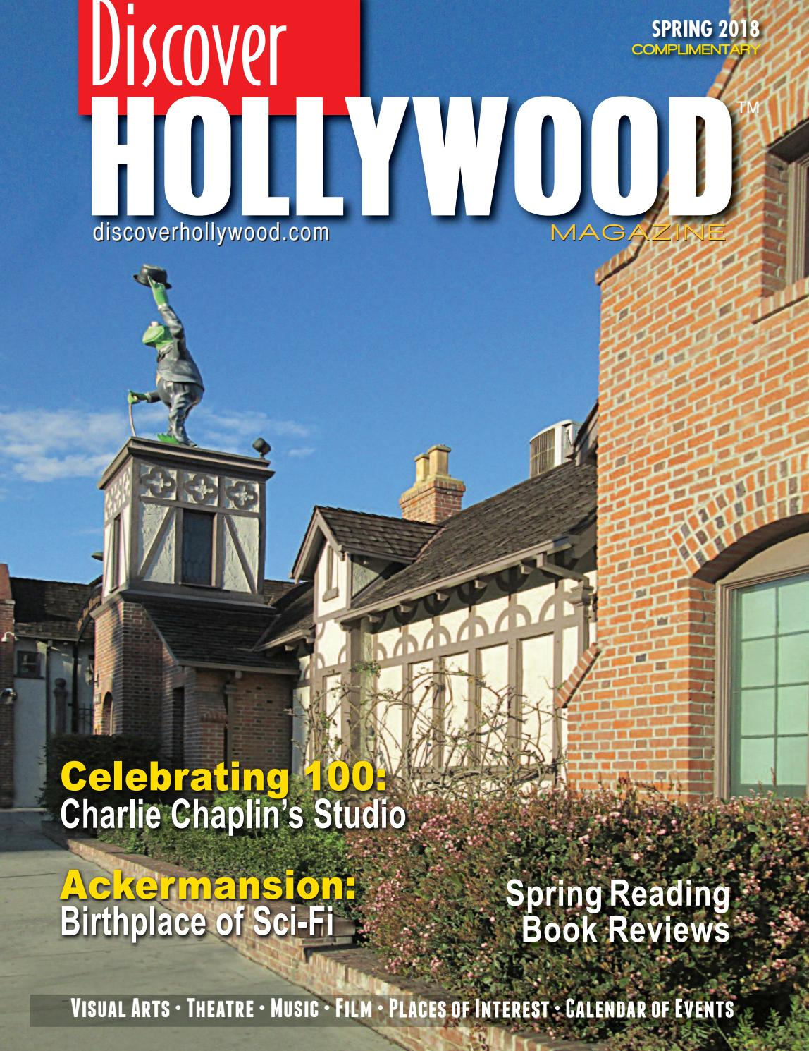 Discover Hollywood Spring 2018 by Discover Hollywood Magazine - issuu