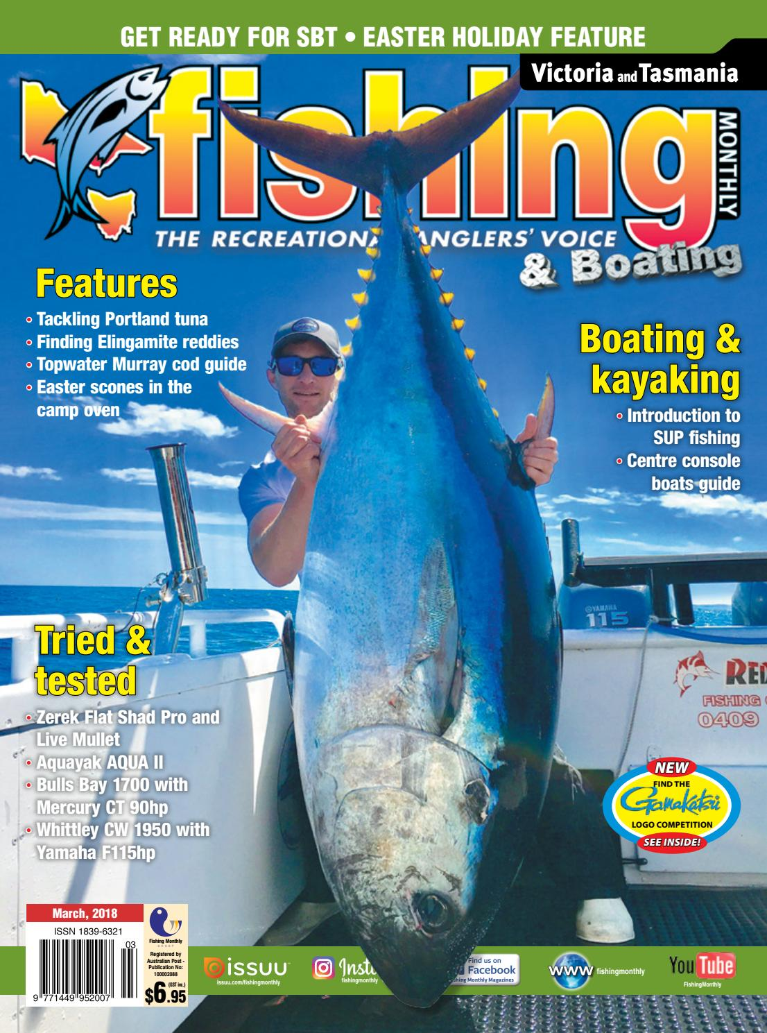 3c69e4504ea Vic Tas Fishing Monthly March 2018 by Fishing Monthly - issuu