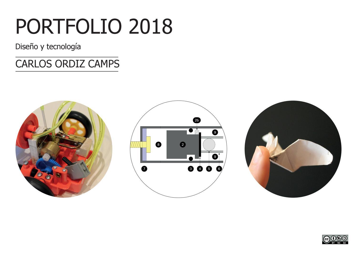 Portfolio 2018 Diseño by Carlos Ordiz - issuu