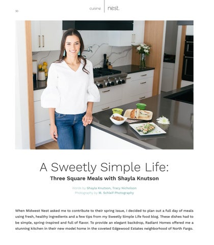 Page 30 of A Sweetly Simple Life: Three Square Meals with Shayla Knutson