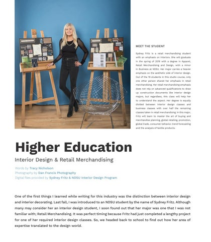 Page 74 of Higher Education - Interior Design & Retail Merchandising