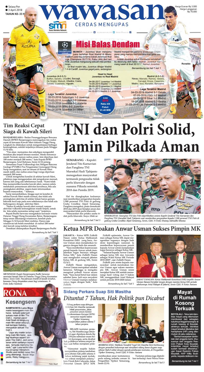 WAWASAN 03 April 2018 by KORAN PAGI WAWASAN - issuu 289d1223aa