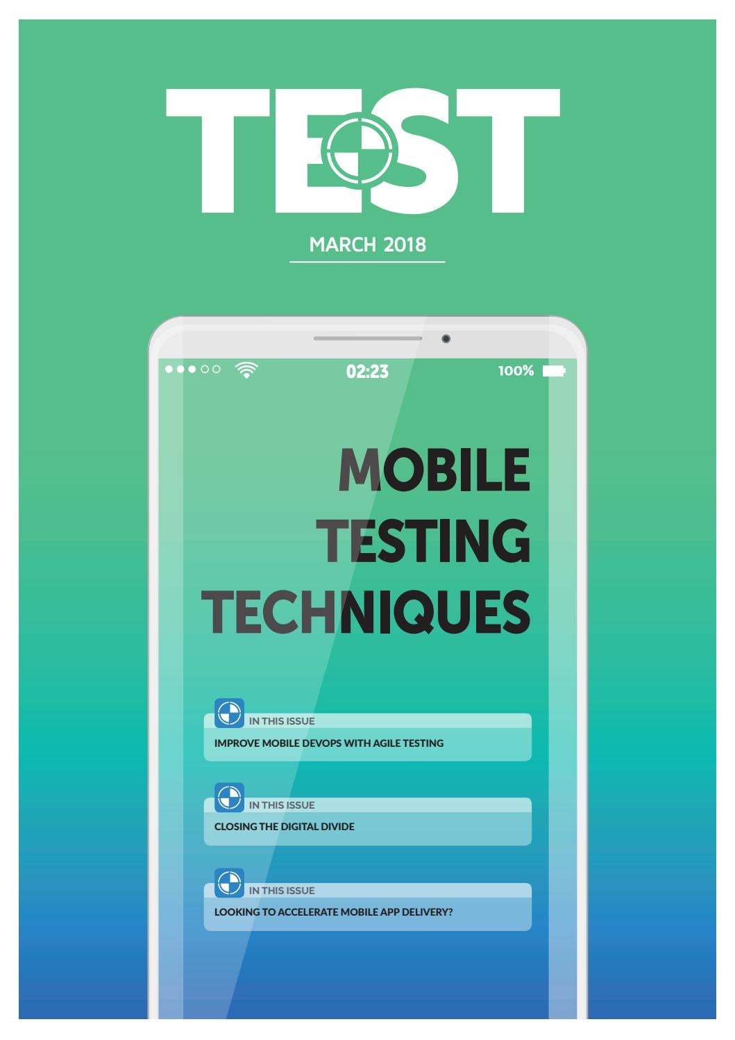 TEST – March 2018 by 31 Media - issuu