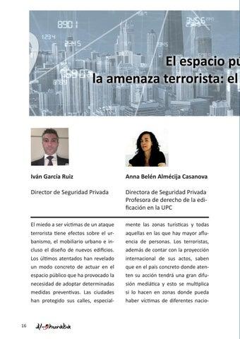 Page 16 of El espacio público frente a la amenaza terrorista: el diseño urbano preventivo