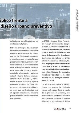 Page 17 of El espacio público frente a la amenaza terrorista: el diseño urbano preventivo