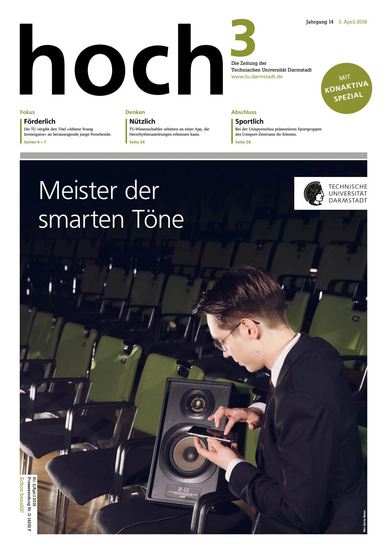 hoch³ #2/2018 by TU Darmstadt - issuu